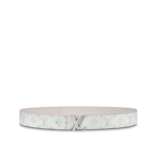 Louis Vuitton LV Initiales 40mm Reversible Belt (White, 100 cm)