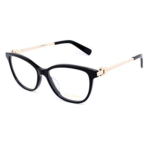 Escada VESA05-0700 Damen-Brille, goldfarben, 53/12/135