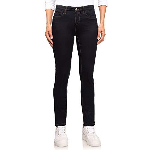 Wonderjeans Classic Short Dark Blue - Pushup-Effekt - Umschmeichelt Ihren Körper, formt Ihren Po und Wird Ihnen Mindestens Eine Nummer Kleiner Passen als Eine übliche Jeans! (36W / 30L)