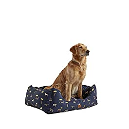 Rosewood Joules JOULES DOG PRINT BOX BED S