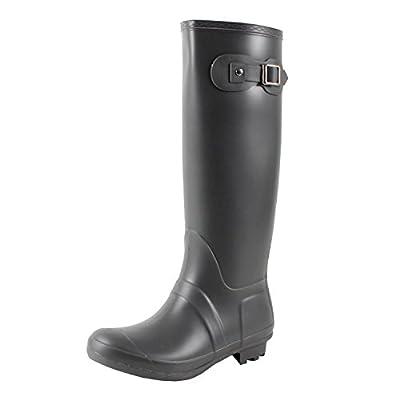 Guilty Heart West Blvd Seattlev2.0 Waterproof Boots, Grey Rubber, 7