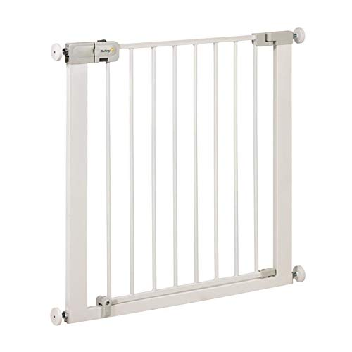 Safety 1st Barriere de Porte Simply Close Metal White