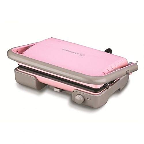 Korkmaz a 316tostella Tostadora Acero Inoxidable Color Rosa Toast Sandwich Tostadora Grill Nuevo