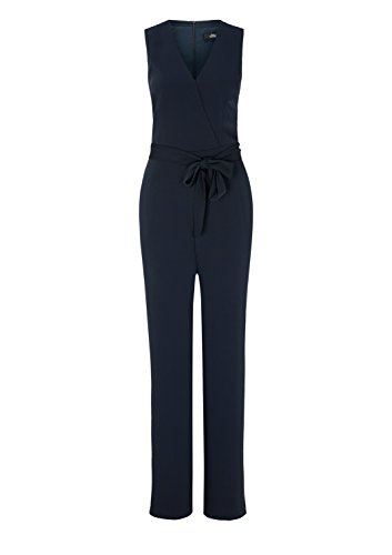s.Oliver BLACK LABEL Damen Jumpsuit, Blau (Deep Blue) - 4