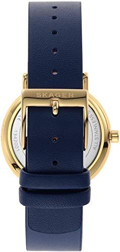 SKAGEN(スカーゲン)『SIGNATUR二針ブルーレザーウォッチ(SKW2867)』