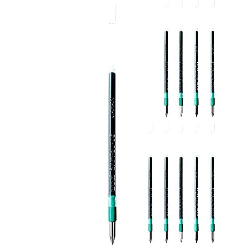 三菱鉛筆 ボールペン用替芯 SXR−80−05 緑10本