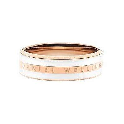 Daniel Wellington anello Classic Ring Satin White small misura 10 size 50 DW00400040