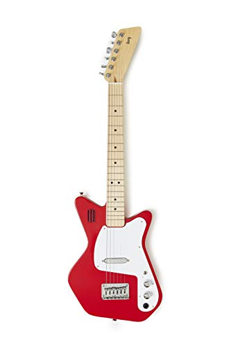 Loog Pro VI Electric Guitar for Kids - Red