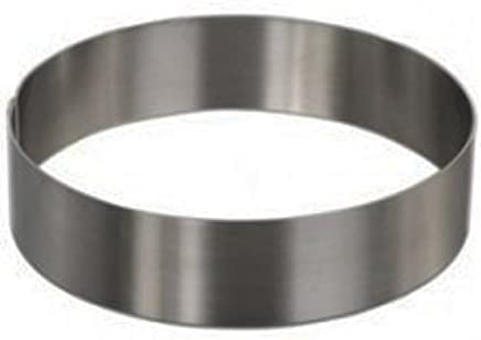 featured product Round Cake Mold/Pastry Ring,  S/S,  Heavy Gauge. (4 x 1.75)
