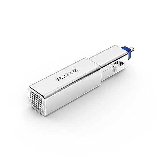FLUX'S - Purificador de Ozono para Coche con Ionizador, Elimina Virus, Bacterias y Mal Olor en el Vehículo