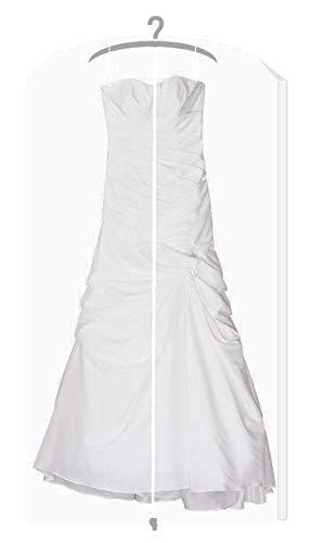 HBCOLLECTION Housse de protection transparente épaisse pour robe de mariée / soirée