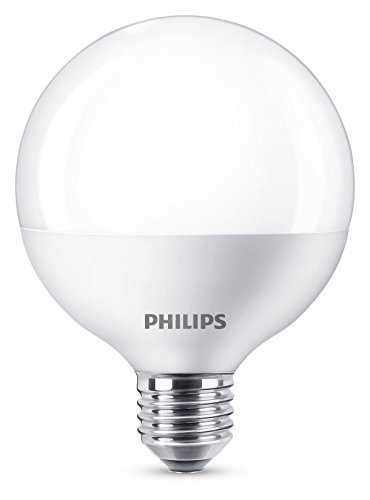 Philips Lighting Bombilla LED Globo, luz blanca fría, Grande