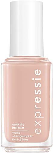 """Essie Schnelltrocknender Nagellack """"expressie"""", Nr. 0 crop top and roll, Nude, Vegane Formel, 10 ml"""