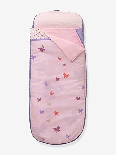 Vertbaudet Schlafsack mit Luftmatratze Readybed® rosa Bedruckt ONE Size
