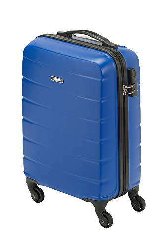 Princess Traveller Grenada Handgepäckskoffer 55x35x20 35l mit Schloss, blau
