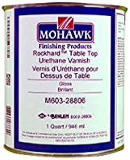 Mohawk Rockhard Table Top Urethane Varnish Satin