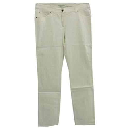 Gerry Weber, Roxy, Damen Damen Jeans Hose Stretchdenim Weiß D 46 Inch 36 L 30 [22385]