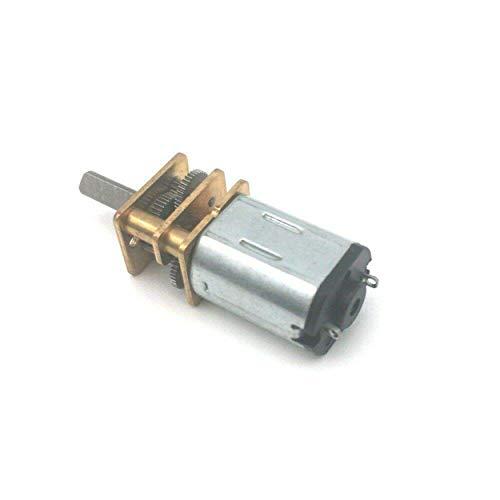 Motor eléctrico de CC 12V 60RPM mini motor de engranaje en miniatura...