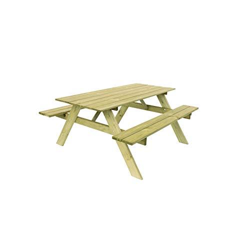 table picnic bois leclerc