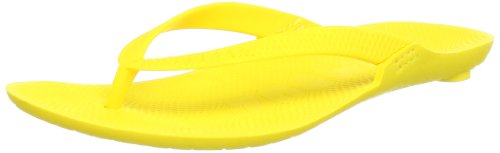 Boombuz Damen Lilli basic naked Zehentrenner, Gelb (yellow), 38 EU