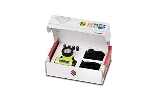 Parat 6.911.254.158 6911254158 Sicherheits-Kopflampe HL-P1, LED, mit EX-Schutz, wasserdicht, gelb