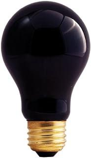 Bulbrite 75A/BL 75-Watt Incandescent Standard A19, Medium Base, Black Light [6 Pack]
