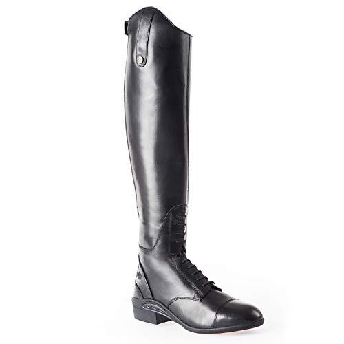 Stiefel »ULTIMA SIR JOHN JUMP « mit Reißverschluss hinten. Bequeme Boots aus Echtleder | Robuster Reitstiefel mit OrthoLite-Sohle, Innenleder, toller Passform| Größen 37-42 | Farbe: Schwarz