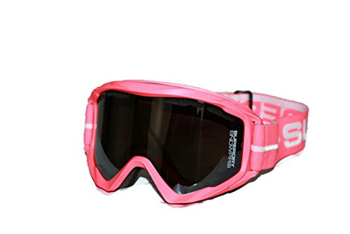 Superdry Skibrille Glacier Snow Coral/Silver, Rose Corail, One Size