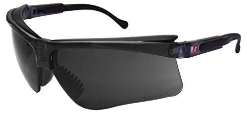 NITRAS Vision Protect Premium Schutzbrille - Beschlagfreie Arbeitsbrille mit UV-Schutz - Passend für Erwachsene (Damen & Herren) - Dunkel (Getönt)