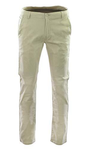 Access Boy's School Uniform Stretch Pants (Khaki, 8)