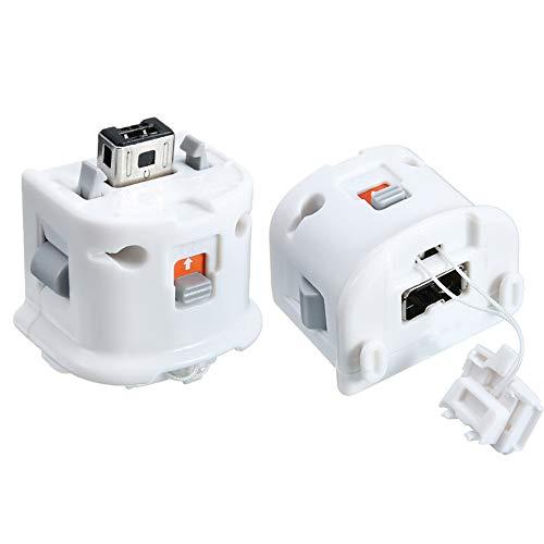 Motion Plus Adaptador de Sensor para Nintendo Wii Remoter, Adaptadores para Mando...