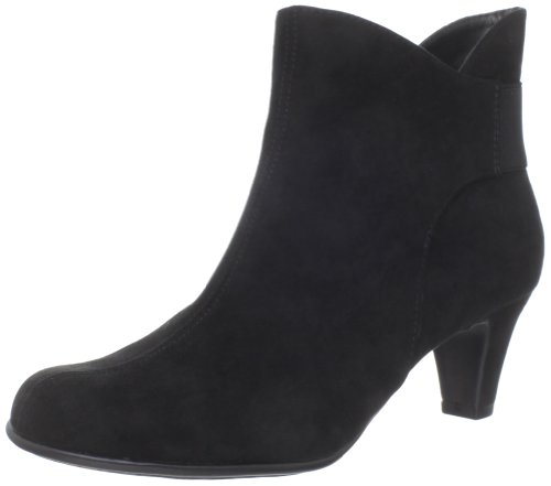 Hot Sale Aerosoles Women's Play Again Ankle Boot,Black Fabric,8 M US