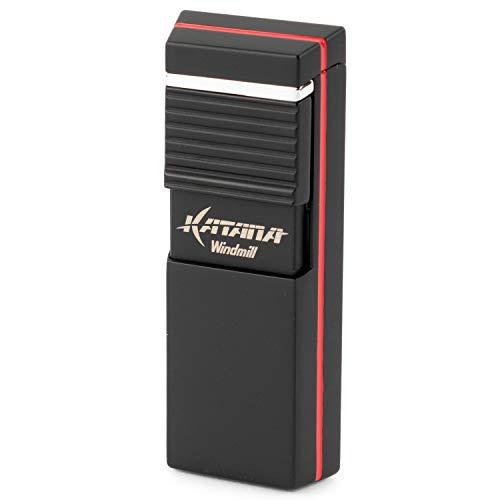 WINDMILL(ウインドミル) ライター カタナ フラットフレーム 耐風仕様 ブラック W08-0003