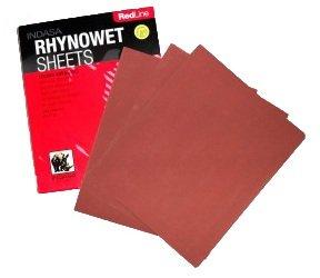10 x P320 Bogen Indasa Schleifpapier Nasschleifpapier