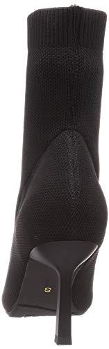 [ランダ]ブーツストレスフリー/ソフトストレッチニットソックスブーツレディースDC09566BLACK22.5cm