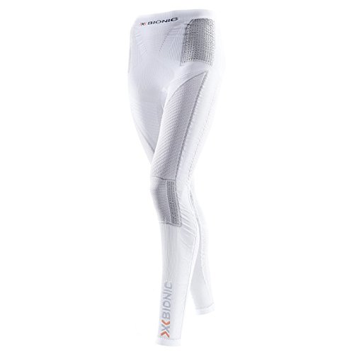 X-Bionic imperméable pour Adulte Lady acc UW Evo Pantalon de Ski Homme-Blanc/Gris-Taille s/m (i020222