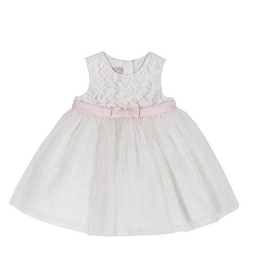 Chicco - Vestido crema 6 mes