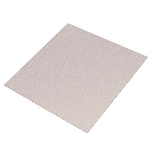 Xinanlongjb ZZB-Metals, 1pc 1 mm Dicke NI-Folie 99,96% reinen Nickelblech-Platte for Galvanotechnik Katalysator Industriebedarf 100 * 100mm