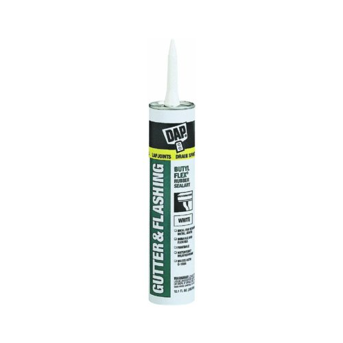 Dap 18182 10.1 oz White Gutter & Flashing Sealant