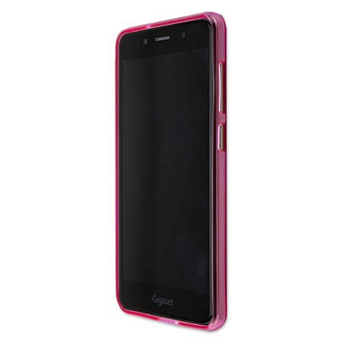 caseroxx TPU-Hülle für Gigaset GS180, Tasche (TPU-Hülle mit & ohne Bildschirmschutz) (TPU-Hülle, pink)