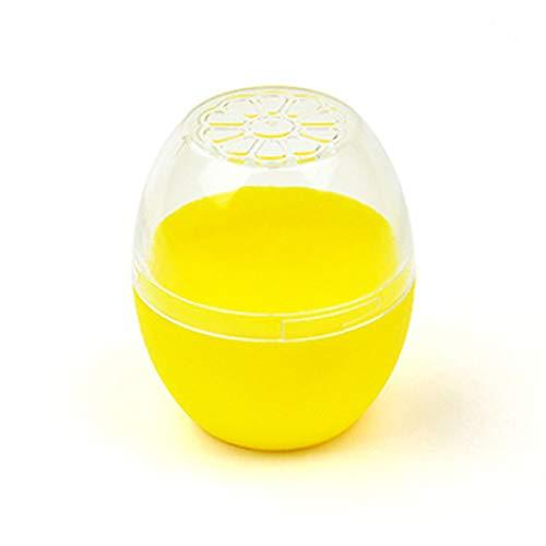 Plastica Crisper, Scatola Sigillata Ciotola per Cibo Riutilizzabili con Coperchio a Forma di Vedura e Frutta Contenitori per Alimenti (Limone)