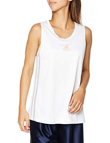 adidas OL TNK Heat.RDY Tank Top, Mujer, White, M
