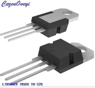 10 teile/los L78S05CV 78S05 drei-terminal spannungsreglerschaltung 5 V 2A hochstrom TO-220 neue original