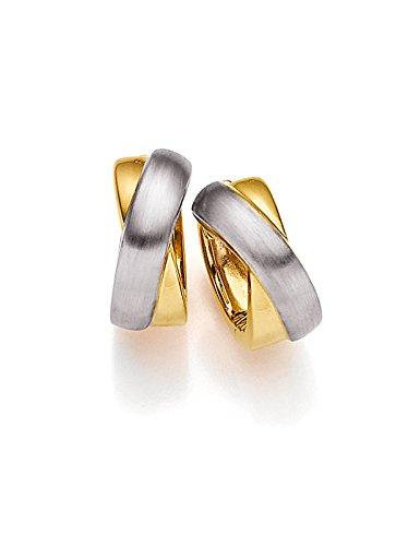 Viventy Damen-Creolen Silber vergoldet rhodiniert - 771234