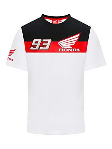 HRC Camiseta Marc Marquez 93 Dual - Blanco - XL