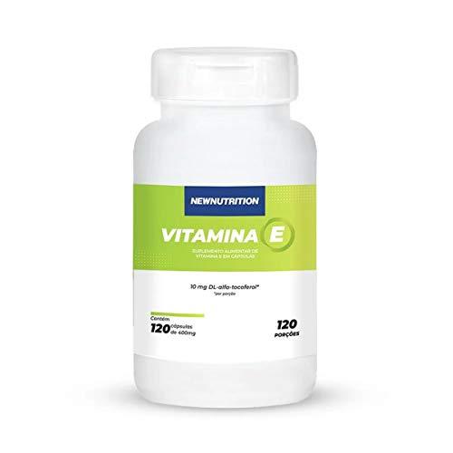 Vitamina E - 120 Cápsulas - NewNutrition, Newnutrition
