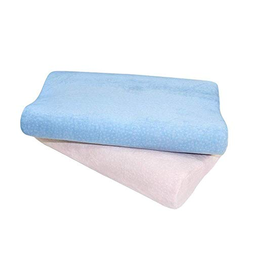 WYJW Memory Foam Pillow, Cervical Memory Pillow for Neck Protection Best Support Neck Pillows for Side Sleepers Side Sleeper Pillow Pillows Down Alternative Pillow Standard (A,55 32 11/8cm)