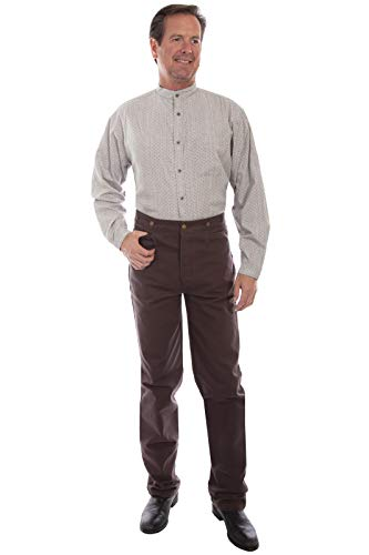 Scully Men's Rangewear Canvas Pant, Walnut - 36