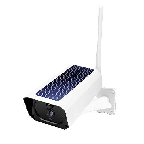 Walmeck DC08 WiFi Cámara Solar 1080P Minitor inalámbrico Plug-in Gratuito IP67 Visión Nocturna Tiempo Real Intercomunicador de Voz Detección de Movimiento Alarma