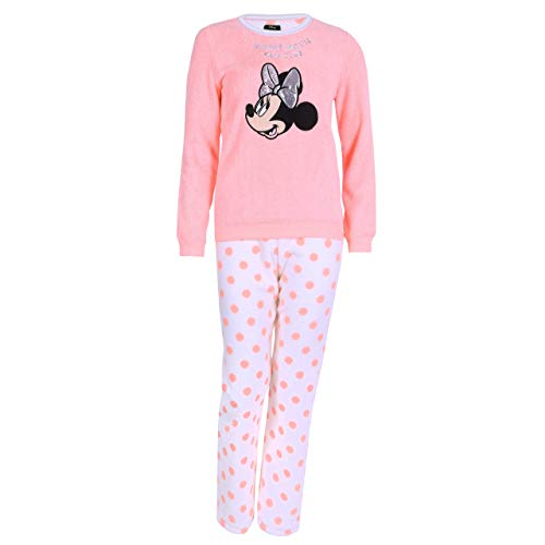 Neon-Schlafanzug mit Punkten Minnie Mouse Disney - 38-40 / UK 12-14 / EU 40-42